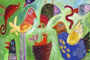 Birds Gone Crazy 1 by Sara Catena