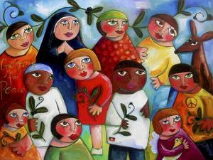 Gathering for Peace by Sara Catena