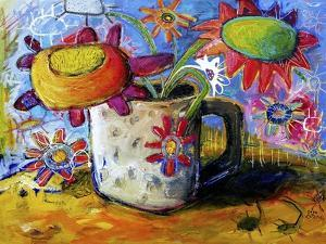 Posy in a Teacup by Sara Catena