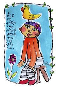 Watercolour Planet - Be Yourself 1 by Sara Catena