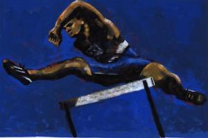 Hurdler, 2009 by Sara Hayward