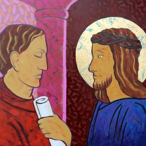 Jesus is condemned by Sara Hayward