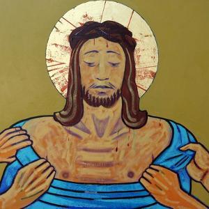 Jesus is stripped by Sara Hayward