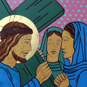 Jesus & the women of Jerusalem by Sara Hayward
