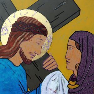 Jesus & Veronica by Sara Hayward