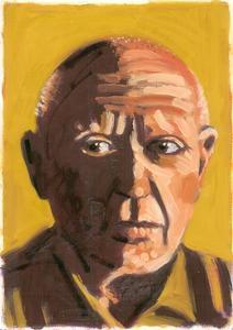 Pablo Picasso, 2008 by Sara Hayward