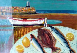Plaice and Lemon by Sara Hayward