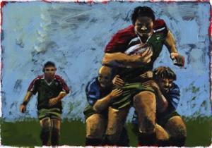 Rugby, 2009 by Sara Hayward