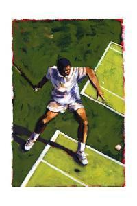 Tennis Player, 2009 by Sara Hayward