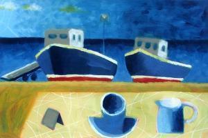 Two Boats by Sara Hayward