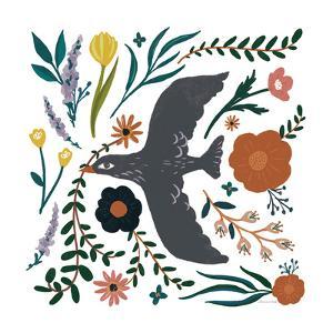 Folk Garden II by Sara Zieve Miller