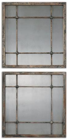 Saragano Square Mirror Pair