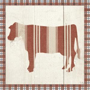 Americana Cow by Sarah Adams