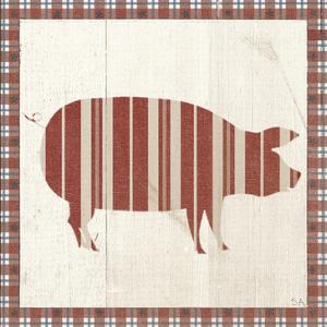 Americana Pig by Sarah Adams