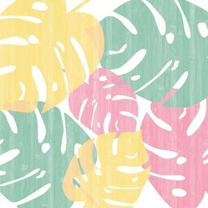 Monstera I Bright on White by Sarah Adams