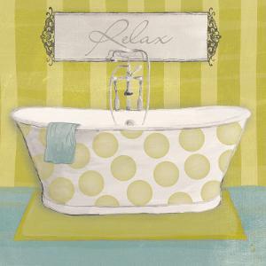 Polka Tub I by Sarah Adams