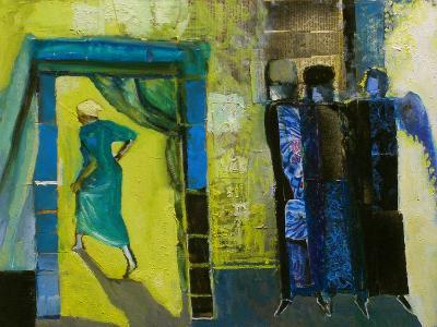 Sarah and the Three Angels, 1998-Richard Mcbee-Giclee Print