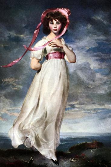 Sarah Barrett Moulin (Pinkie), 1794-Thomas Lawrence-Giclee Print