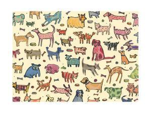 46 dogs, 2017 by Sarah Battle