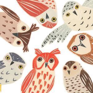 A Parliament Of Owls, 2018 by Sarah Battle