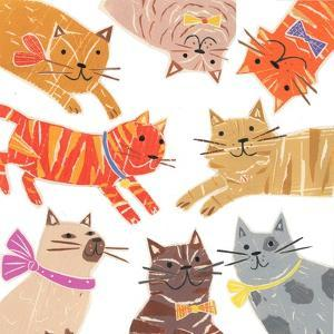 Cats,Cats Cats, 2018 by Sarah Battle
