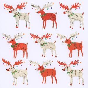 Nine Document Reindeer by Sarah Battle