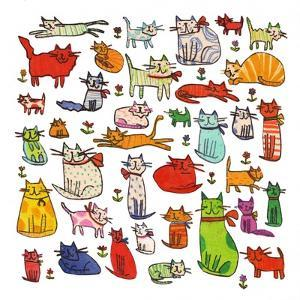 Thirty eight cats, 2018 by Sarah Battle