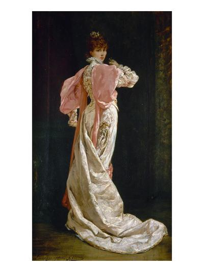 Sarah Bernhardt (1844-1923)-Georges Clairin-Giclee Print