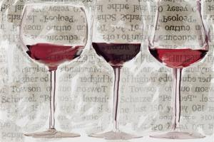 3 Wine Glasses by Sarah Butcher