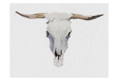 Alabaster Cow Skull
