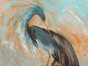 Beachy Bird Frill by Sarah Butcher