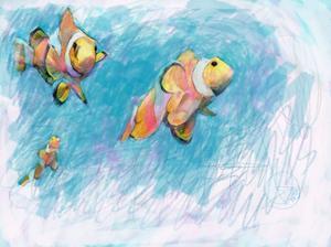 Clowfish Trio by Sarah Butcher