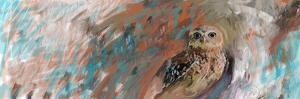 Owl Panel by Sarah Butcher