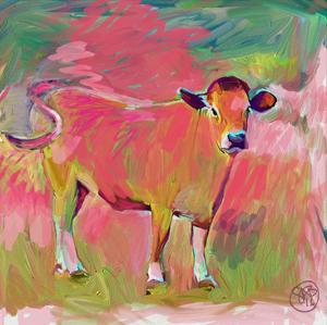 Pink Calf by Sarah Butcher