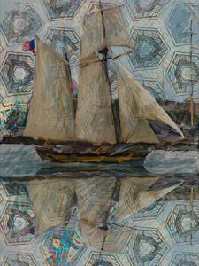 Sailboat by Sarah Butcher