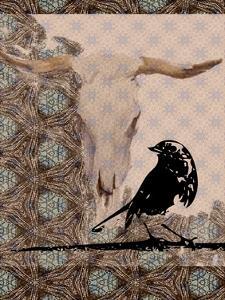 Skull Bird by Sarah Butcher