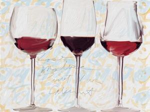 Three Glasses by Sarah Butcher
