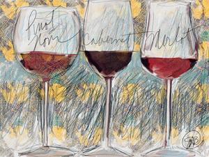Wine 3 by Sarah Butcher