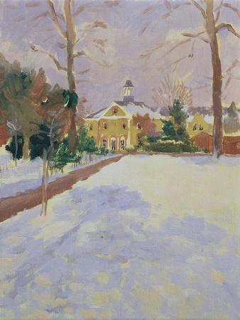 Ravenscourt Park under Snow