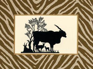 Serengeti Silhouette I by Sarah Chilton