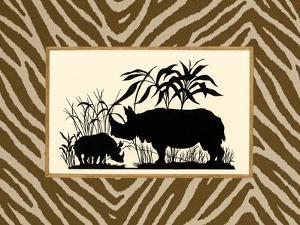 Serengeti Silhouette II by Sarah Chilton