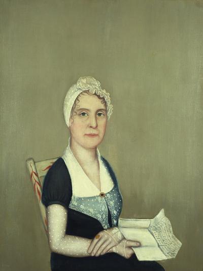 Sarah Cornwall Everest, 1812-Ammi Phillips-Giclee Print