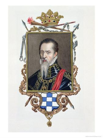 Ferdinand Alvarez de Toledo Duke of Alva, Memoirs of the Court of Queen Elizabeth, Pub.1825