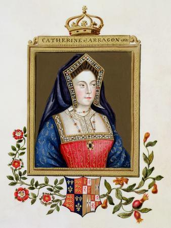 Portrait of Catherine of Aragon 1st Queen of Henry VIII