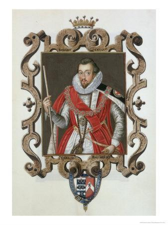 Portrait of Robert Cecil