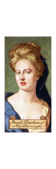 Sarah, Duchess of Marlborough, taken from a series of cigarette cards, 1935. Artist: Unknown-Unknown-Giclee Print