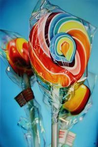 Triple Pop  2011  (oil on canvas) by Sarah Graham