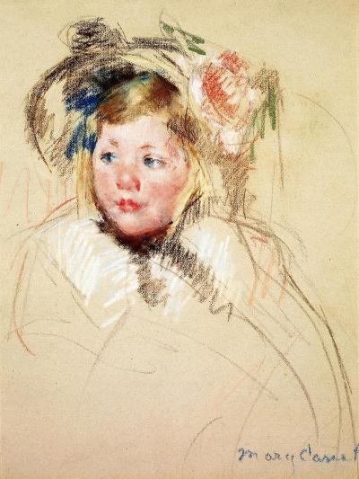 Sarah Looking Left, 1901-Mary Cassatt-Giclee Print