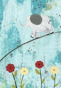 Baby Elephant Walk by Sarah Ogren