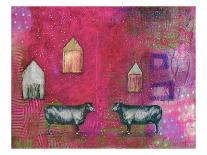 3 Bees-Sarah Ogren-Framed Art Print